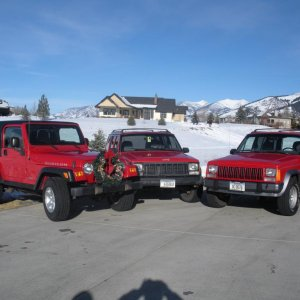 I'm Dreaming of a Red Christmas Jeep Party